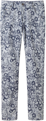 Girl by Band of Outsiders / Printed Denim Pant