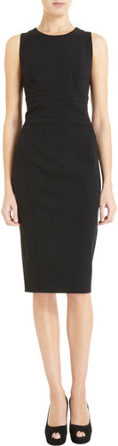 Narciso Rodriguez Layered Back Dress
