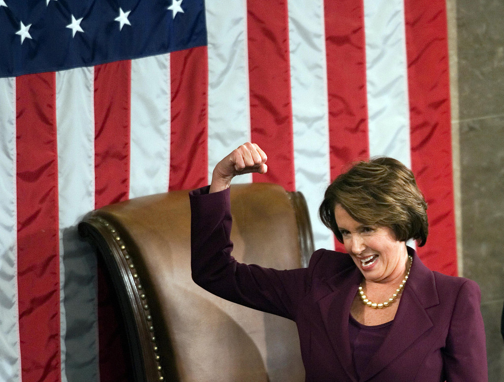 First Woman to Serve as Speaker of the House: Nancy Pelosi