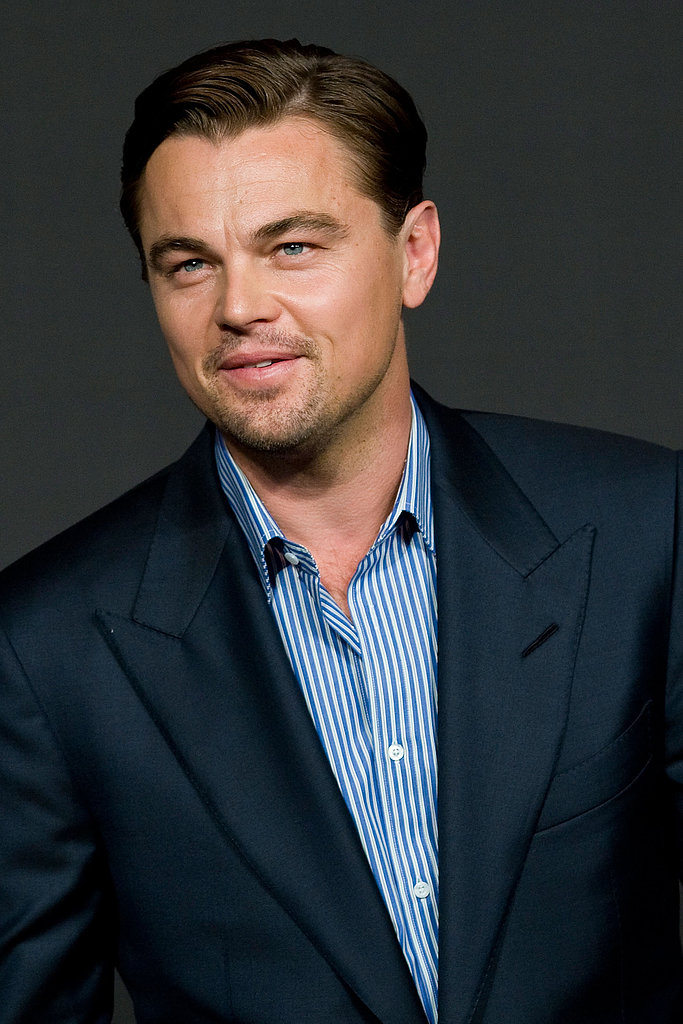 Leonardo DiCaprio chatted with reporters at a South Korean press conference for Django Unchained.
