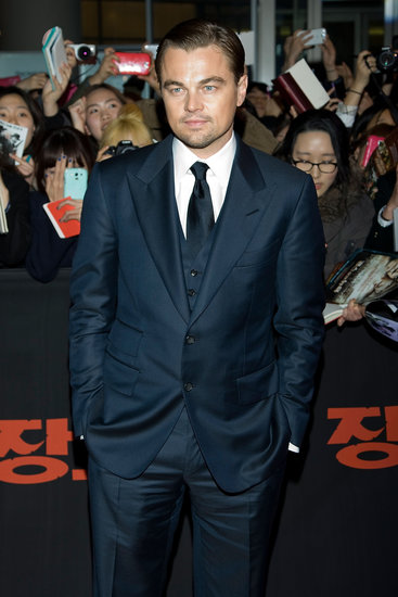 Leonardo DiCaprio Suits Up in Seoul For Django Unchained