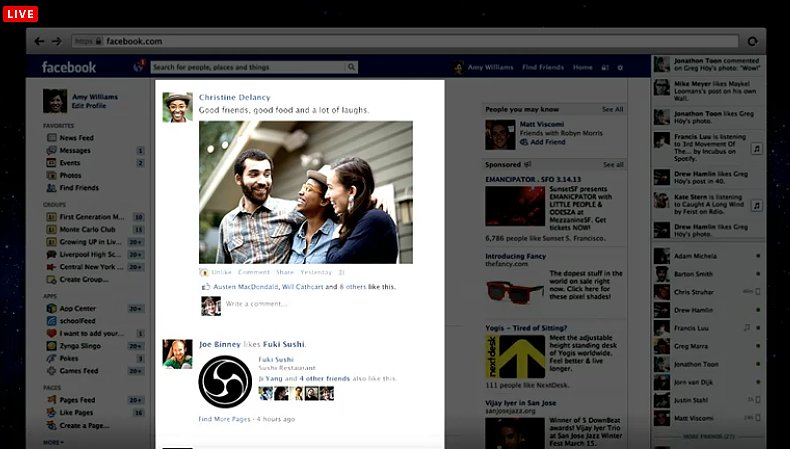 "The old Facebook News Feed was only 40 percent of the homepage, but the company wants to get ""Facebook out of the way"" and put content front and center."