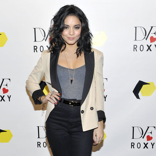 Vanessa Hudgens at DVF Loves Roxy Launch (Video)