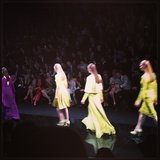 Bright gowns at Elie Saab.