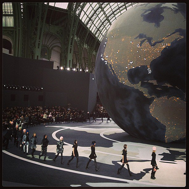 The Chanel Fall '13 runway took us around the world.