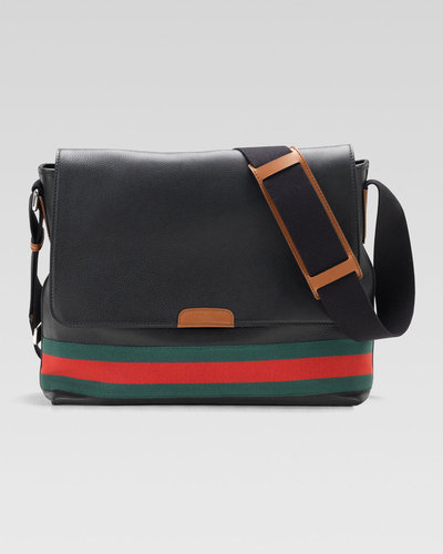 Gucci Signature Web Messenger Bag