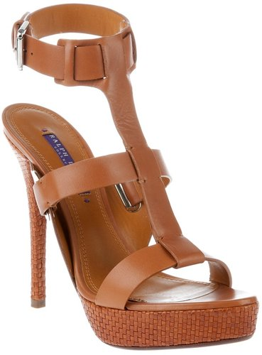 Ralph Lauren high heel sandal