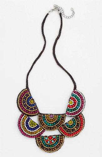 Panacea Two Tier Corded Rope Necklace