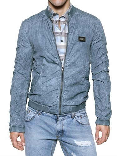 Dolce & Gabbana - Washed Nylon Sport Jacket