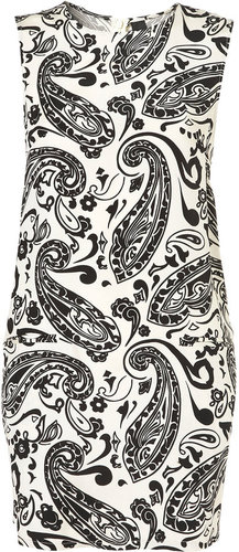 Paisley Pocket Shift Dress by Boutique
