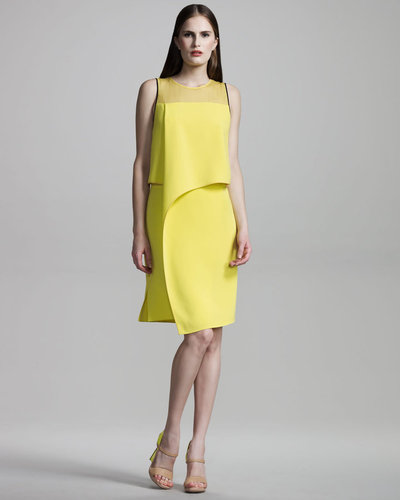 Reed Krakoff Layered Silk Dress