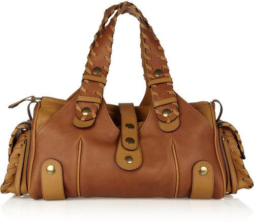 Chloé Silverado leather tote