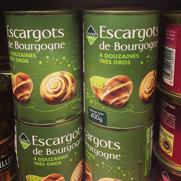 Canned Escargots