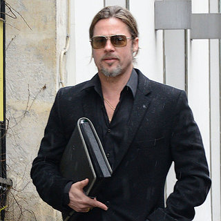Brad Pitt Shopping in Paris | Pictures