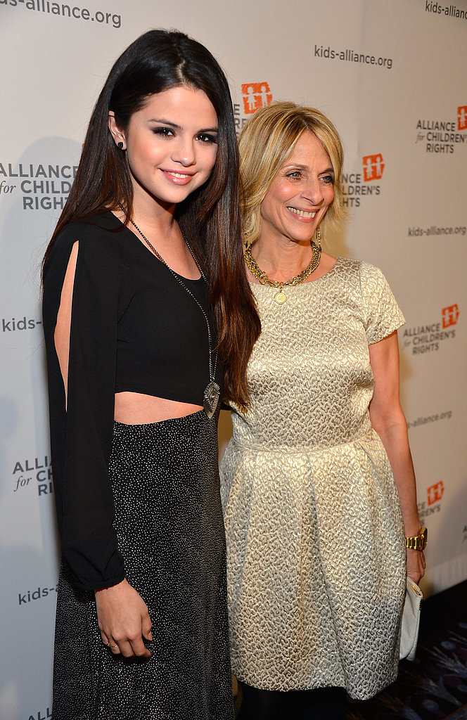 Selena Gomez posed for photos with Janis Spire.