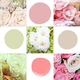 Bouquet-Inspired Paint Palettes — Just in Time For Spring!
