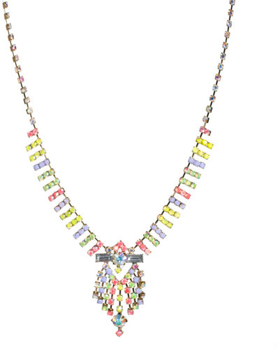 ASOS Pastel Chandelier Necklace
