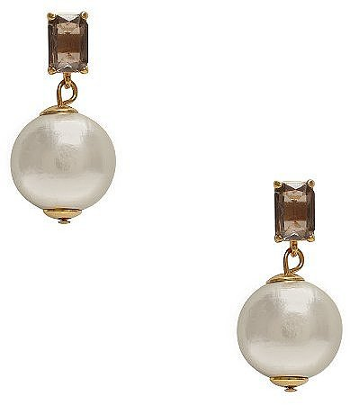 Pearl street drop earrings