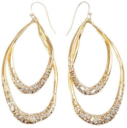 Alexis Bittar oval hoop earrings