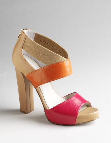 NINE WEST Stylin Colorblock Platform Sandals