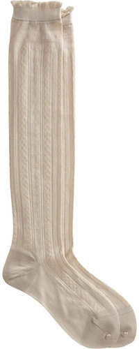 Antipast Rope Knit Knee Sock