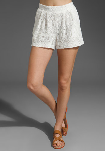 SAM&amp;LAVI Addison Lace Shorts