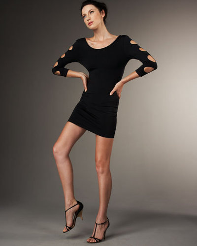 David Lerner Cutout-Sleeve Dress