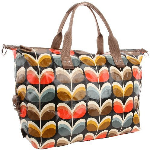 Orla Kiely Unisex Adult Laminated Shadow Stem Print Weekend Handbag