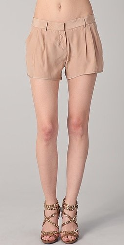 Haute hippie Silk Shorts