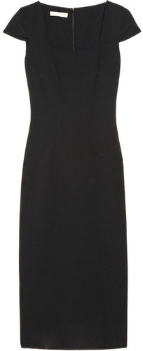 Michael Kors Stretch wool-blend crepe sheath dress