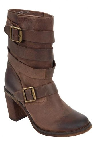 France Shoe in Brown Distressed - by Jeffrey Campbell
