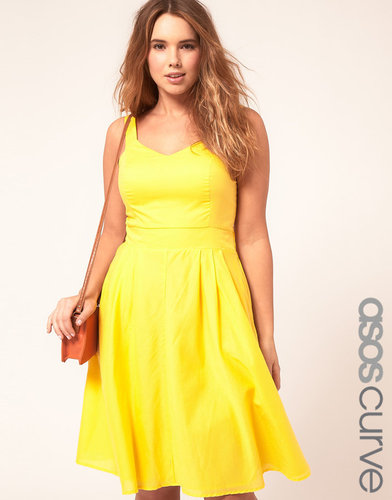 ASOS CURVE Midi Summer Dress
