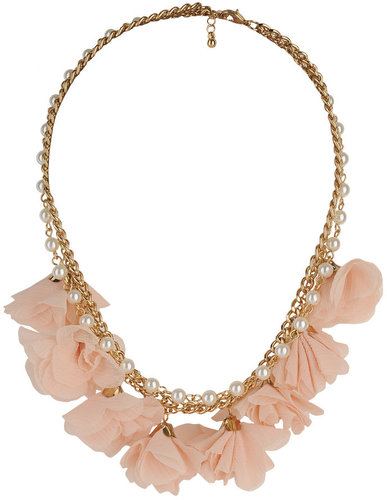 Fabric Flower Necklace: Lanvin vs Forever 21