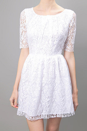 Patterson J Kincaid Lace Dress