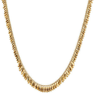 House Of Harlow Pyramid Bar Necklace