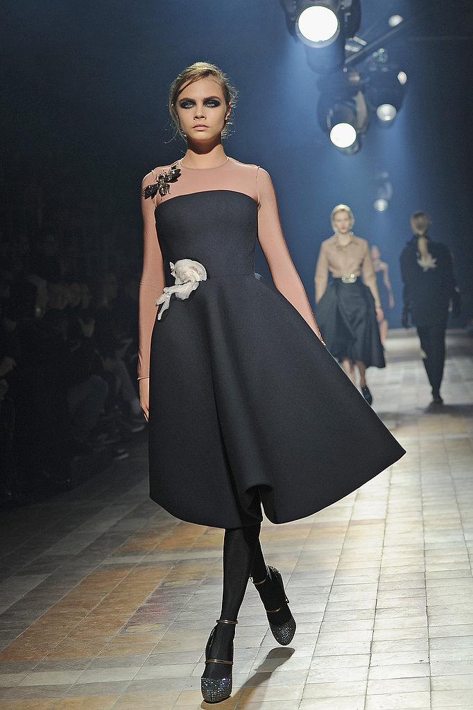 Cara Delevingne for Lanvin, Paris