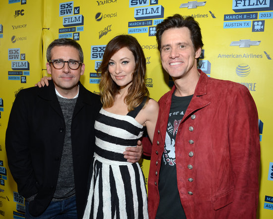 Steve Carell, Olivia Wilde, and Jim Carrey gathered in Austin for the world premiere of The Incredible Burt Wonderstone.