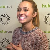 Hayden Panettiere Nashville PaleyFest Interview 2013 | Video