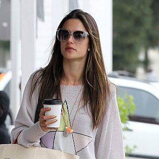 Alessandra Ambrosio and Children in Brentwood | Pictures