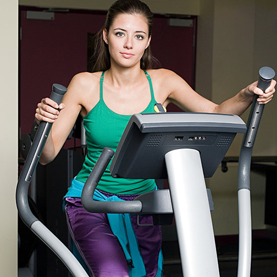 elliptical burned treadmill calories