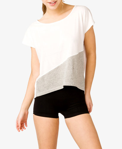 FOREVER 21 High-Low Workout Tee