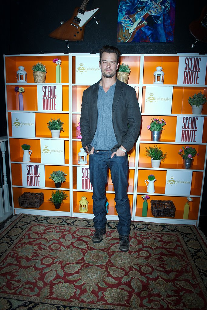 Josh Duhamel partied at his Scenic Route afterparty at SXSW.
