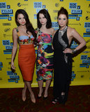 Selena Gomez posed with Rachel Korine and Ashley Benson at  SXSW.