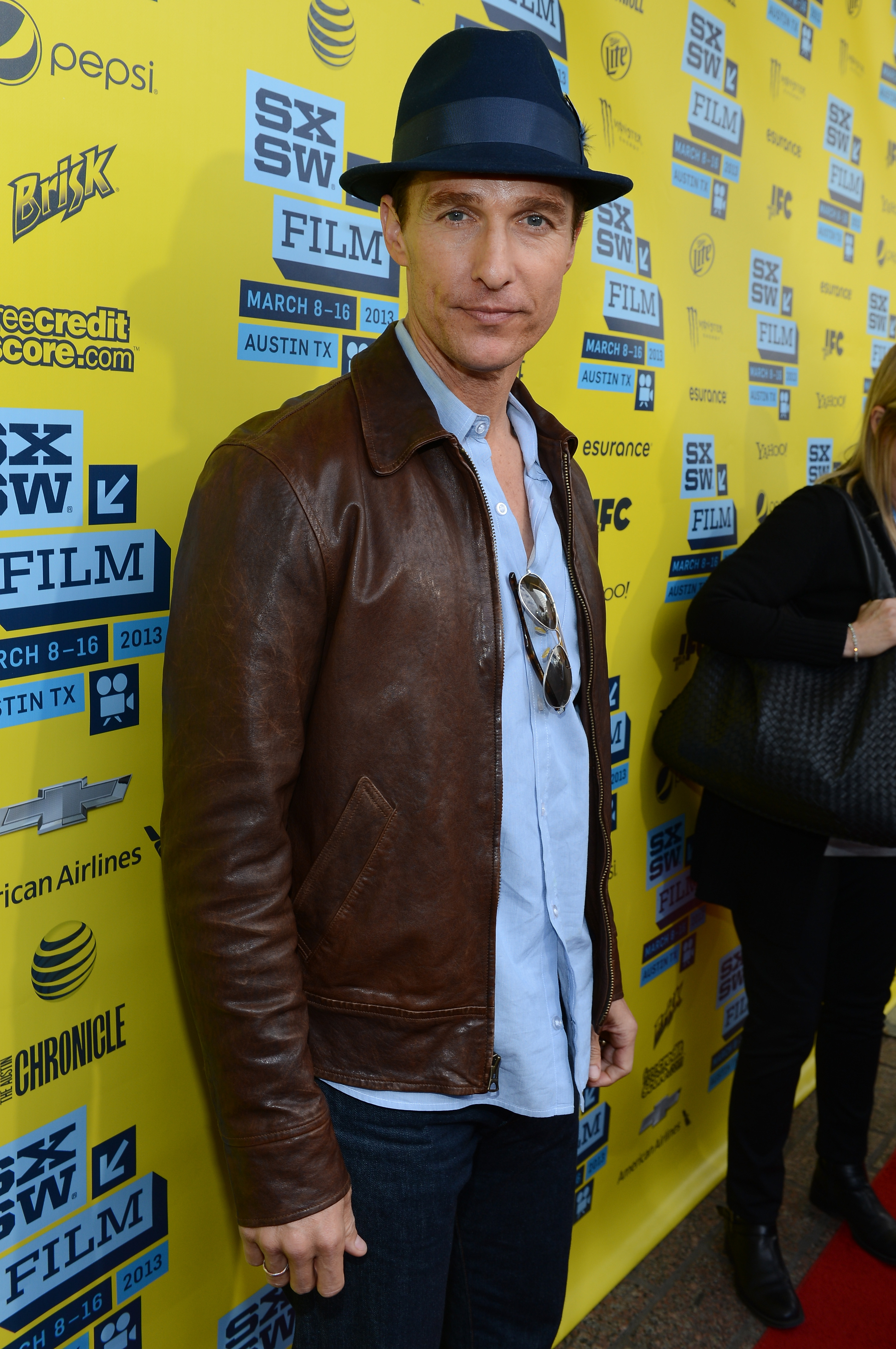 Matthew McConaughey stepped out for his Mud screening at SXSW.