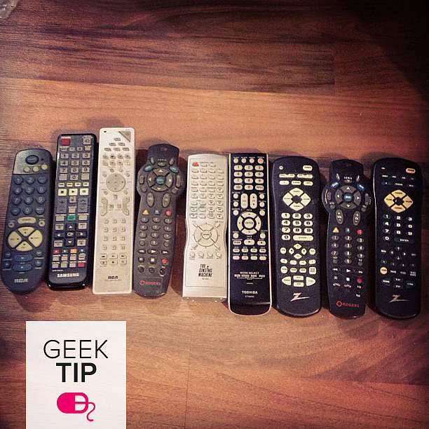 31 Days of Spring Cleaning: Organize Your Remotes