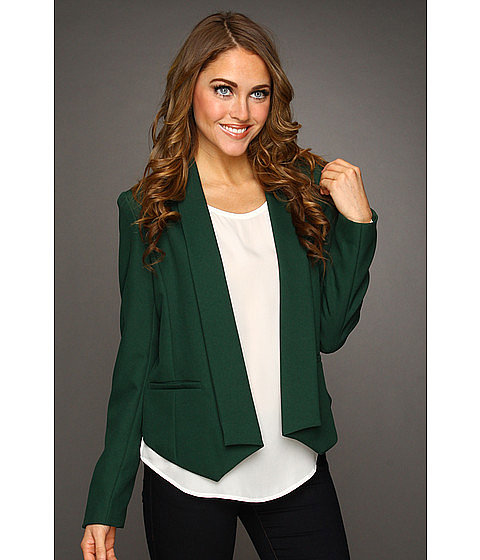 For a look that is fresh and festive, layer this open blazer by Brigitte Bailey ($79, originally $99) over a white tank and matching denim.
