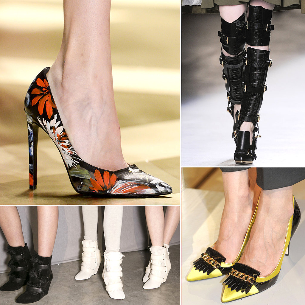 Shoe Trends From Fall 2013 Fashion Week Popsugar Fashion