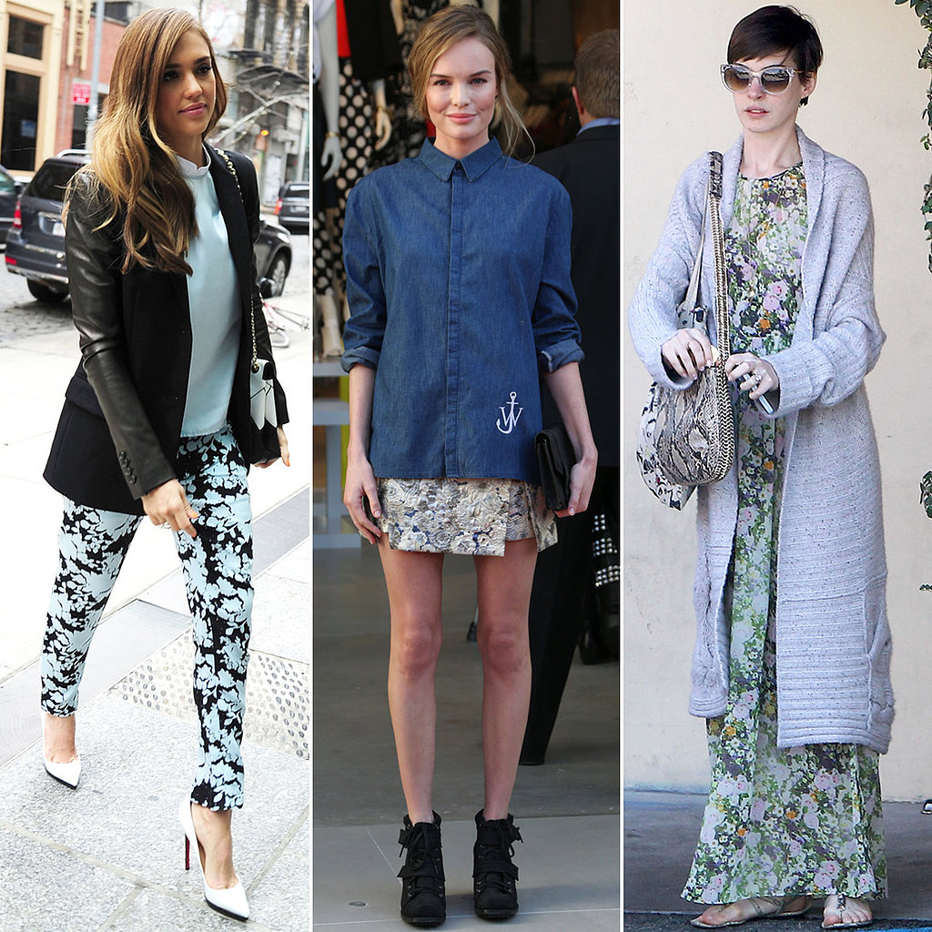7 Days, 7 Ways: Fresh Ways to Work Florals Into Your Spring Look