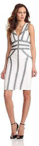 BCBGMAXAZRIA Women's Hanne Knit Cocktail Dress