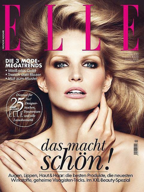 Elle Germany April 2013
